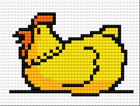 A small hen