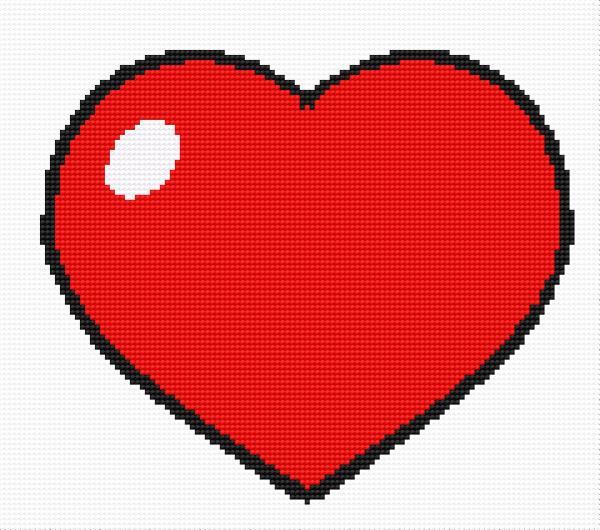A small heart