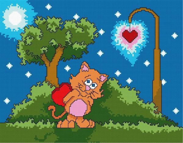 Valentine s cat