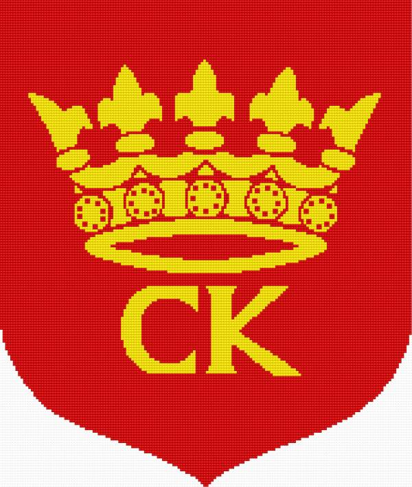Coat of arms of Kielce (town in Poland)
