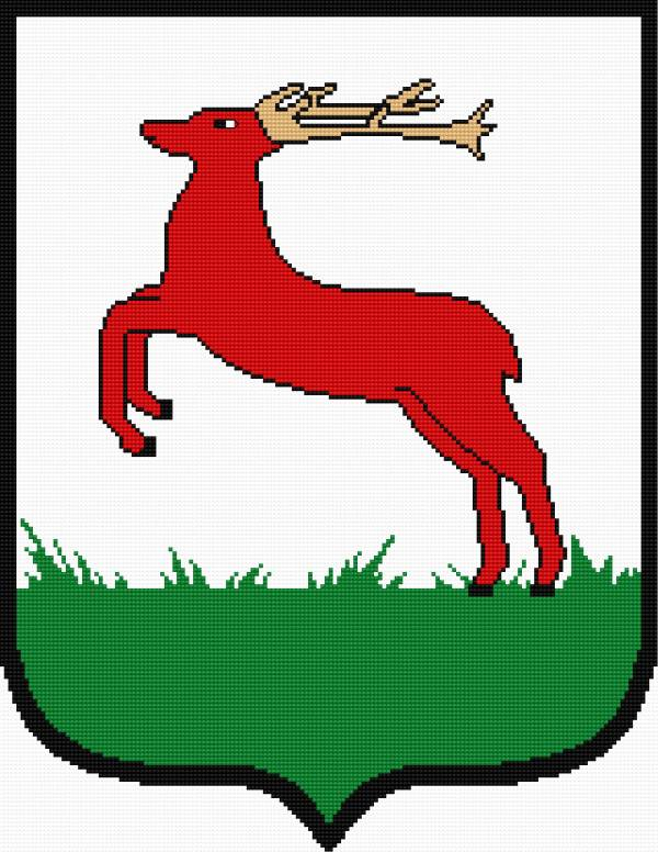 Coat of arms of Pila (town in Poland)