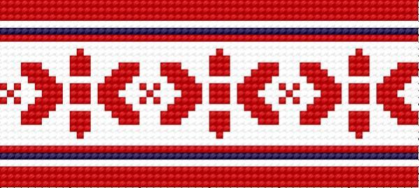 The traditional wlodawski pattern - the early XX century