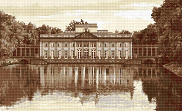 The Lazienki Palace in Warsaw