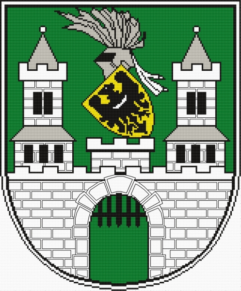Coat of arms of Zielona Gora (town in Poland)