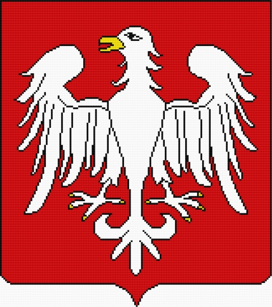 Coat of arms of Piotrkow Trybunalski (Polish city)