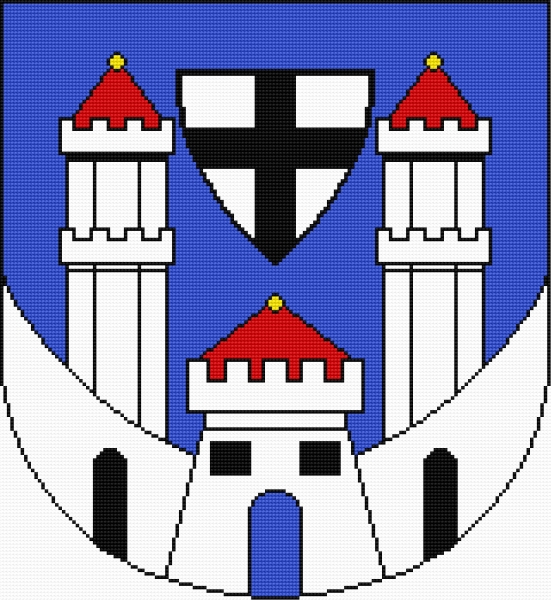 Coat of arms of Bytow (Polish city)