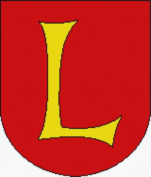 Coat of arms of Lubaczow (Polish city)