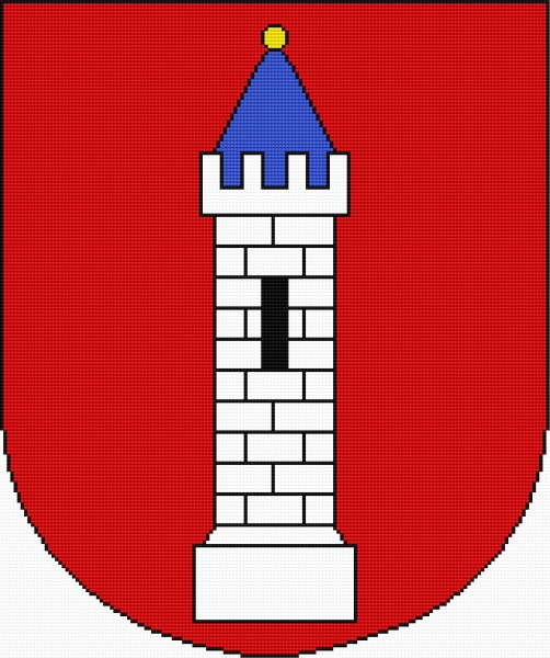 Coat of arms of Wielun (Polish city)