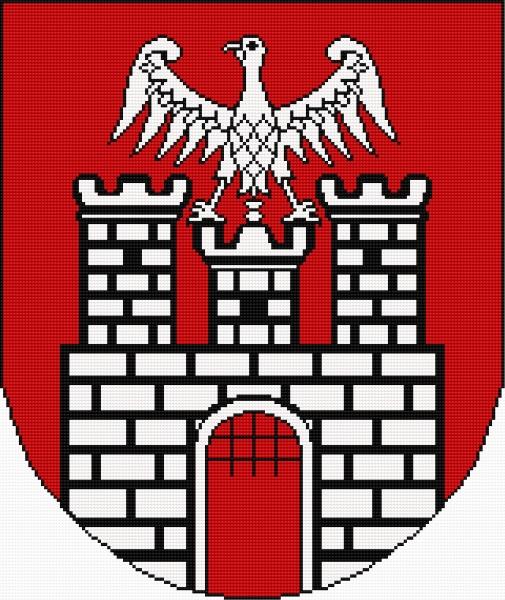 Coat of arms of Sieradz (Polish city)