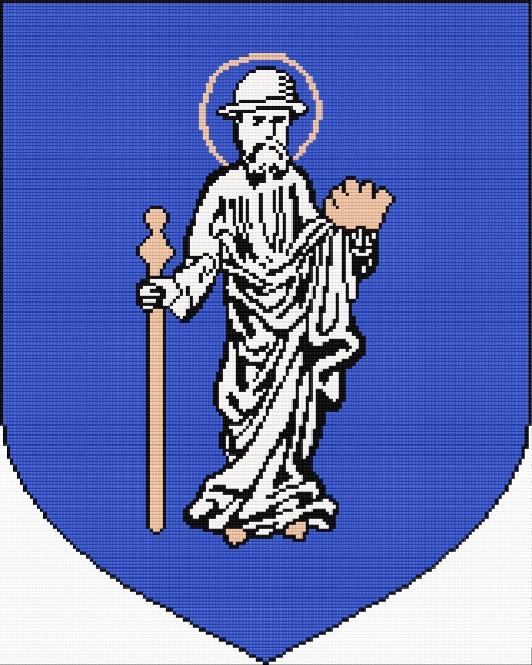 Coat of arms of Olsztyn (Polish city)