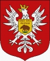 Coat of arms of Ostroleka (Polish city)