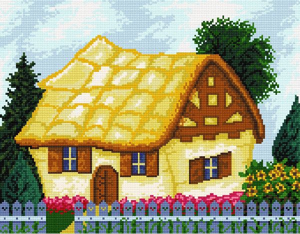 Seven dwarfs' cottage
