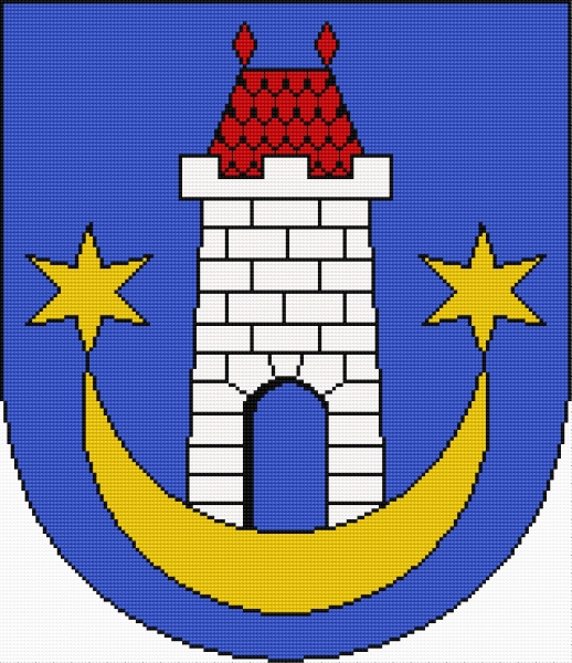 Coat of arms of Kazimierz Dolny (Polish city)