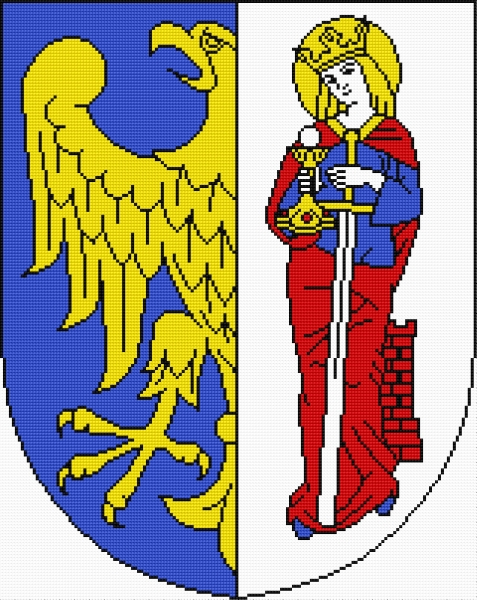 Coat of arms of Ruda Slaska (Polish city)