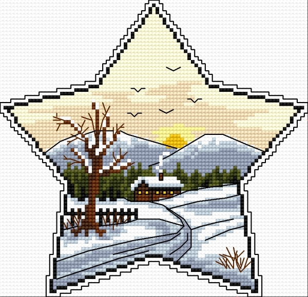 Winter star 2