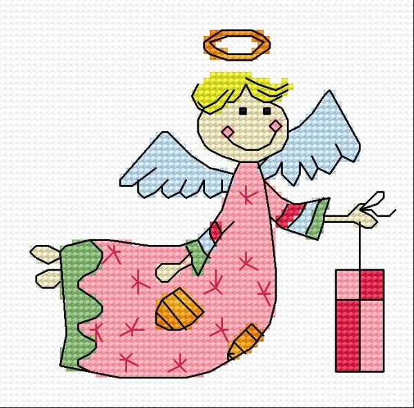 Angel with a gift
