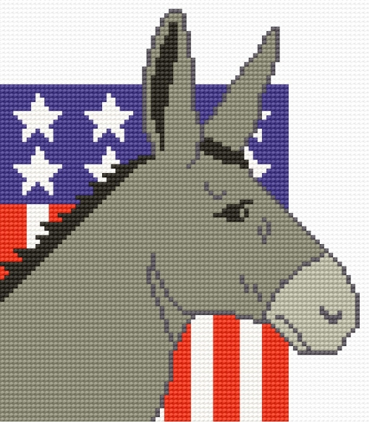 American election donkey