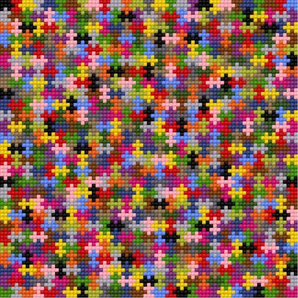 Biscornu - a jigsaw puzzle